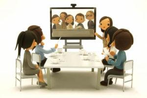 TV,電話,会議