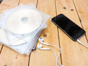 CD,音楽